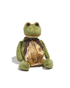 Large Frog Toy With Milk Chocolate Midi Frog