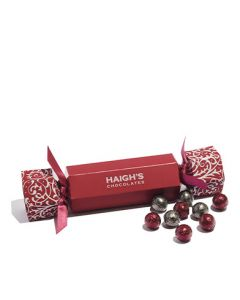 Christmas Bon Bon filled with Milk Chocolate Baubles
