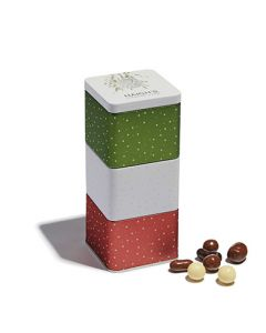 Assorted Chocolates Stacked Gift Tin