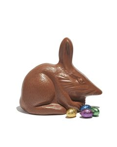 Large Milk Chocolate Bilby with Mini Eggs