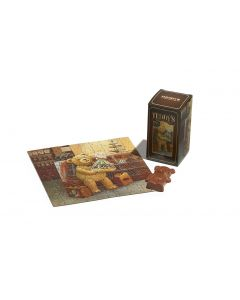 Teddy Jigsaw Puzzle with Milk Chocolate Teddy Bear