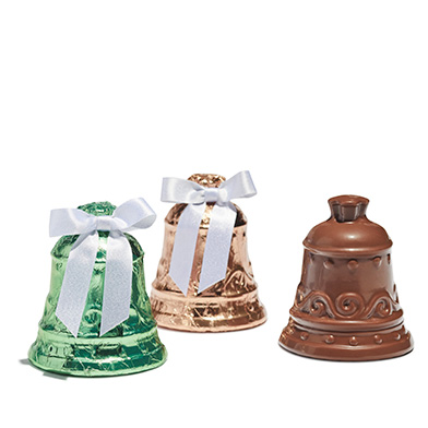 Foiled Milk Chocolate Bell