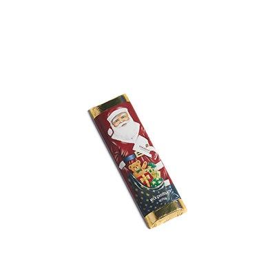 Milk Chocolate Santa Bar
