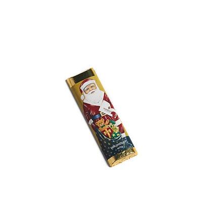 Dark Chocolate Santa Bar