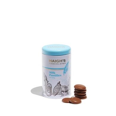 Milk Chocolate Pastilles Gift Tin