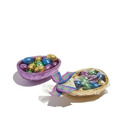 Milk Chocolate Half Egg with Mini Eggs