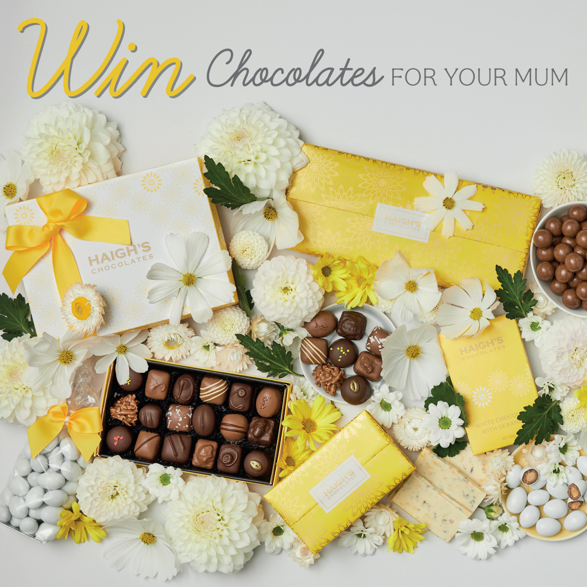 Win chocolates for your Mum