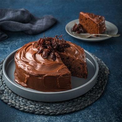 Previous Next Haigh's Raisin & Pedro Ximinez Chocolate Cake