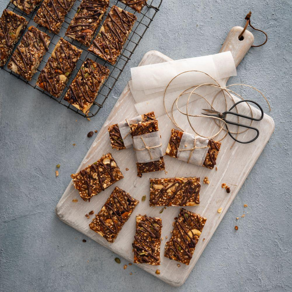 Haigh's Chocolate, Fruit & Nut Energy Bars