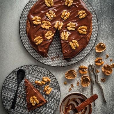 Haigh's Spiced Chocolate and Walnut Torte