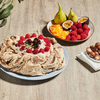 Haigh's Festive Fruits Chocolate Pavlova