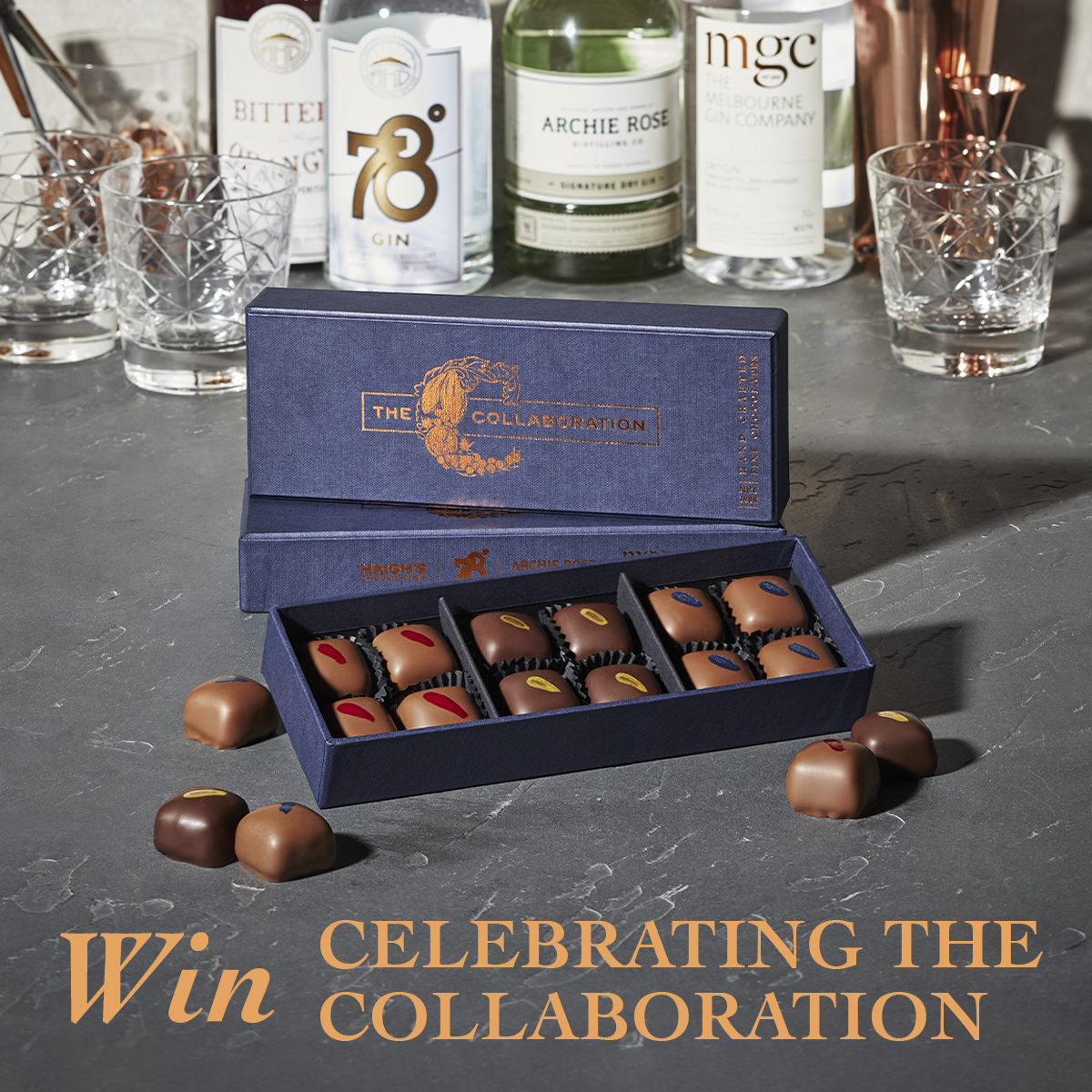 Win an exclusive Collaboration gift package