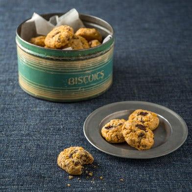 Chocolate, Orange & Sultana Cornflake Biscuits