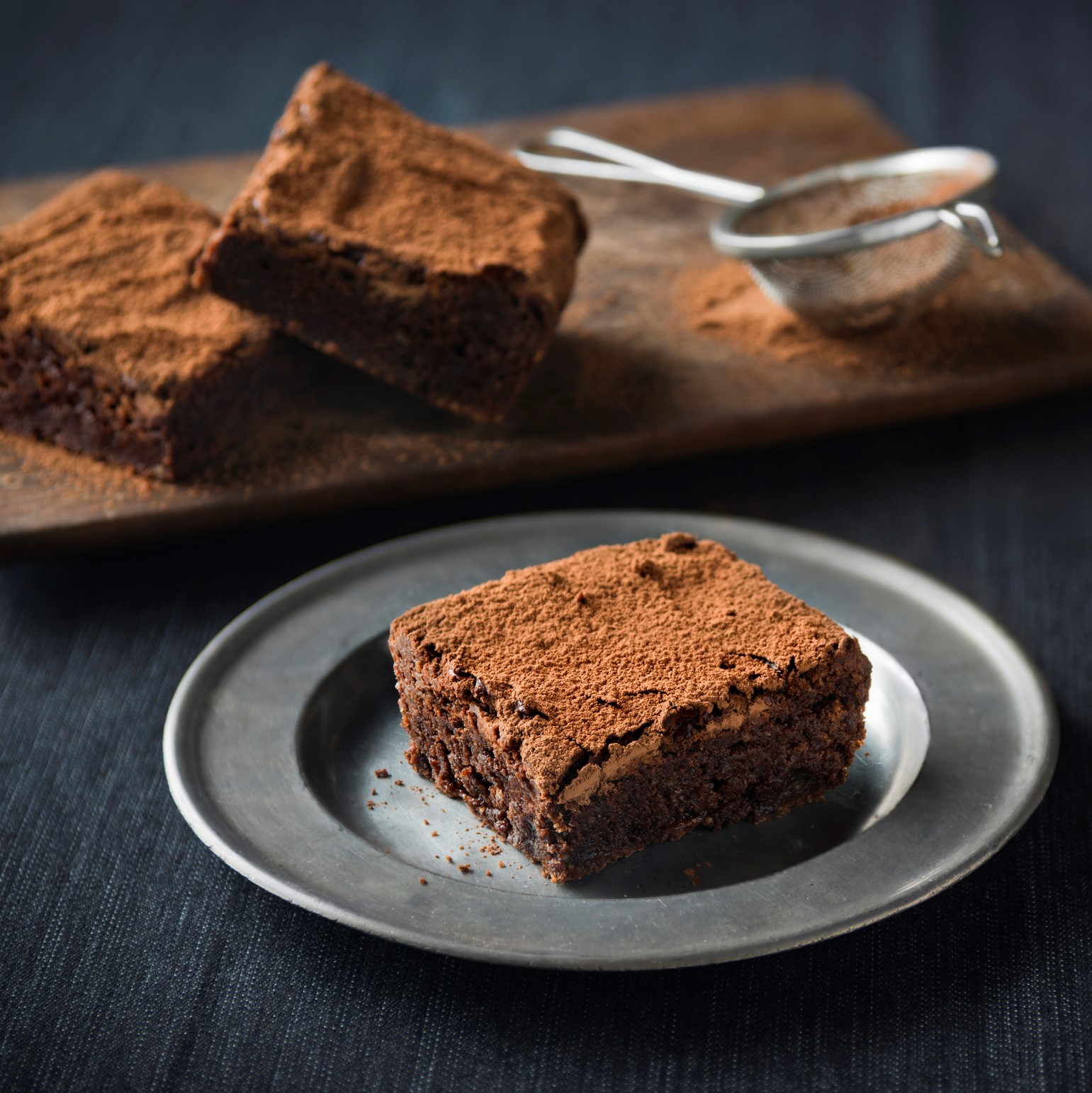 Haigh's Chocolate and Hazelnut Fudge Brownies