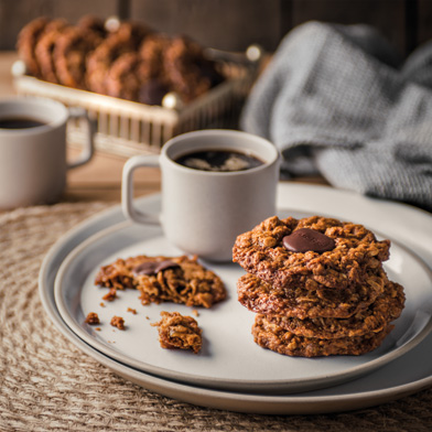 Haigh's Chocolate, Oat & Ginger Biscuits