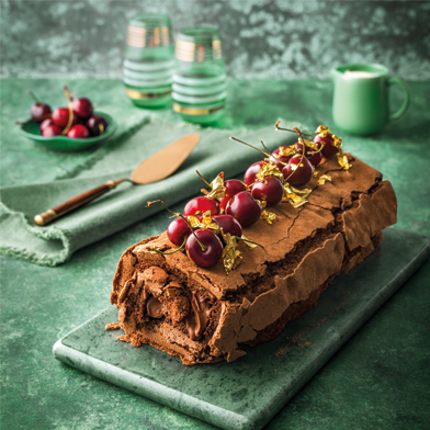Haigh's Double Chocolate Roulade