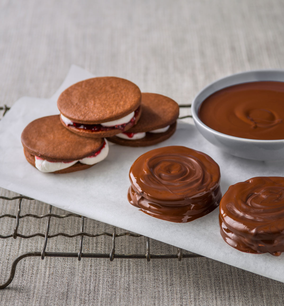 Haigh S Chocolates Make Haigh S Chocolate Wagon Wheels At Home